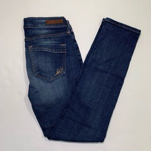 Express skinny mid rise jeans size 2